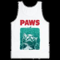 PAWS (Vintage Parody tank)