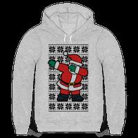 Dabbing Santa Hoodie