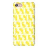 Yellow Puppy Pattern