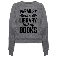Paradise Is A Library Full Of Books