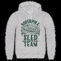 North Pole Sled Team