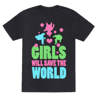 Girls Will Save the World