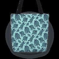 Cute Raccoon Pattern