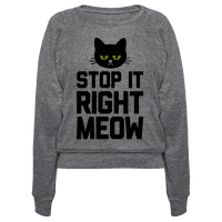 Stop it Right Meow