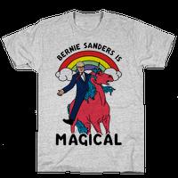 Bernie Sanders on a Magical Unicorn