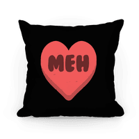 Valentine's Day Heart Meh Pillow
