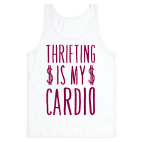 Thrifting Is My Cardio Tank