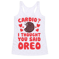 Cardio? I Thought You Said Oreo