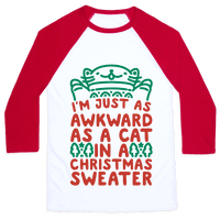 Awkward As A Cat In A Christmas Sweater