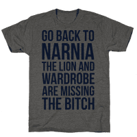 Go Back to Narnia the Lion and the Wardrobe are Missing the Bitch