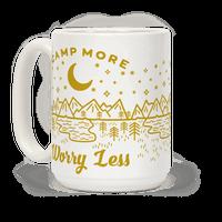 Camp More Worry Less Mug