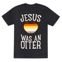 Jesus Was An Otter Tee