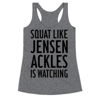 Squat Like Jensen Ackles Is Watching