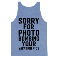 Sorry for Photobombing