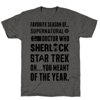Favorite Fandom Season