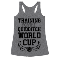 Training For The Quidditch World Cup
