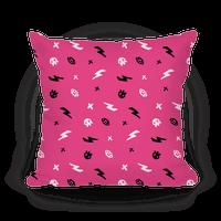 Punk Rock Pattern (Hot Pink)