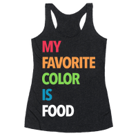 My Favorite Color is Food