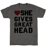 She Gives Great Head