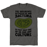 The Difference Between Me And Bacteria