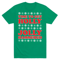 TIME TO GET HOLLY JOLLY HAMMERED