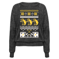 Hogwarts Ugly Christmas Sweater: Hufflepuff