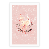 Pastel Peaceful Fawn