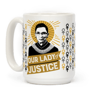 RBG: Our Lady Of Justice Mug