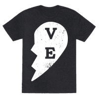 Love  ve  Couples Shirt