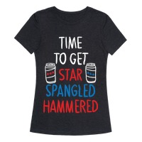8801c453e8e5b0 TIME TO GET STAR SPANGLED HAMMERED ( RED