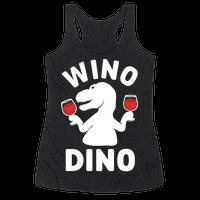 Wino Dino Racerback