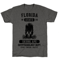 Florida Skunk Ape Cryptozoology Tee