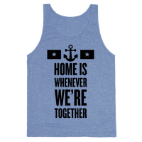 Home Is Whenever We're Together (Navy)