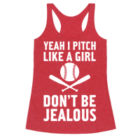 Yeah I Pitch Like A Girl
