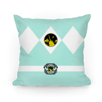 Narwhal Power Ranger Pillow