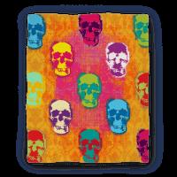 Retro Pop Art Skull Blanket