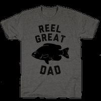 Reel Great Dad Tee