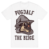 Pugdalf The Beige Tee