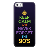 Keep Calm And Never Forget The 90's