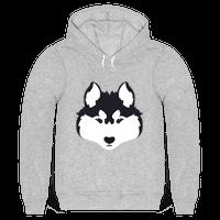 Siberian Husky Face