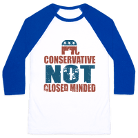 Conservative Not Closed Minded