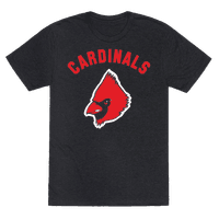 Cardinals on Black