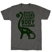 Brontosaurs Against Body Shaming