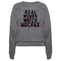 Real Women Watch Hockey Pullover