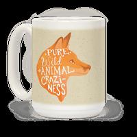 Pure Wild Animal Craziness Mug