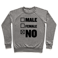 Male, Female, No