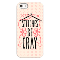 Stitches be Cray! Phonecase