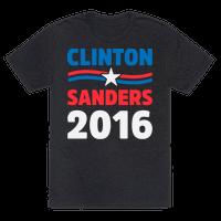 Clinton Sanders 2016 Tee