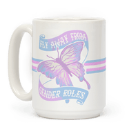 Fly Away From Gender Roles Mug