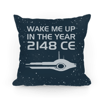 Wake Me Up In The Year 2148 CE Pillow
